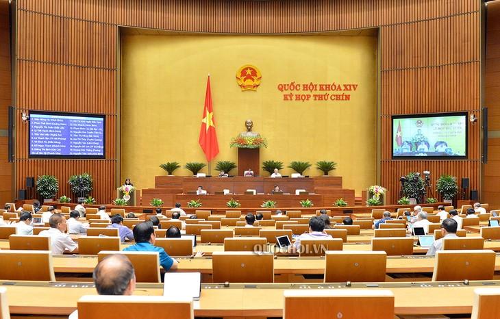 Assemblée nationale: la loi sur la promulgation des textes réglementaires en débat - ảnh 1