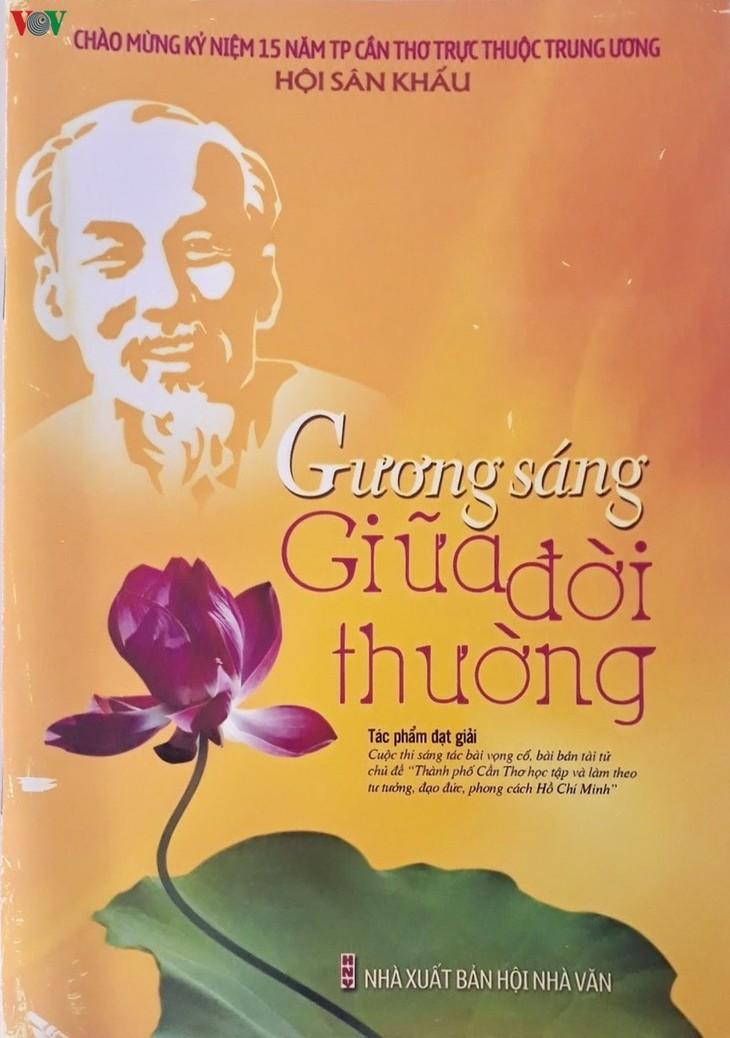 Le Président Hô Chi Minh, une source d'inspiration intarissable pour les artistes de Cân Tho - ảnh 2