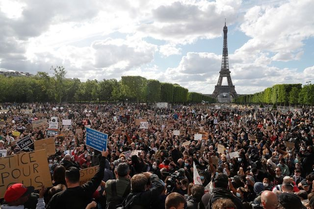 De Washington à Paris, mobilisation massive contre le racisme  - ảnh 7