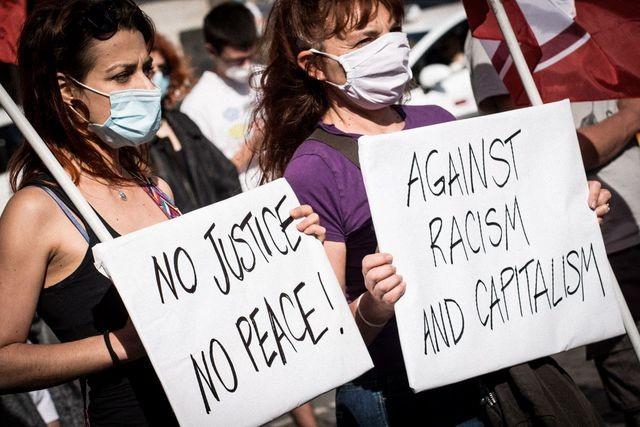 De Washington à Paris, mobilisation massive contre le racisme  - ảnh 9