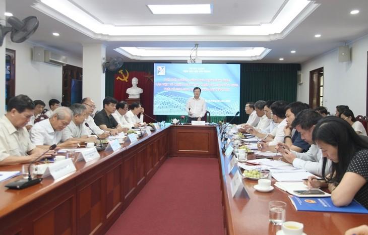 Trinh Dinh Dung plaide pour une restructuration de la filière de matériaux de construction  - ảnh 1