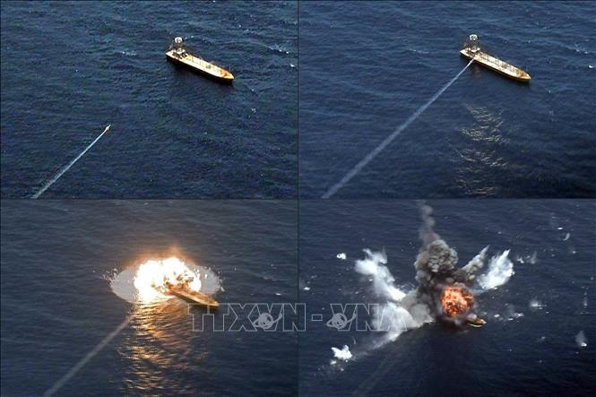 L'Iran dit avoir testé avec succès de nouveaux missiles de croisière - ảnh 1