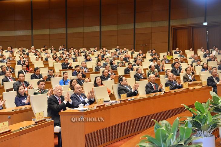 L'Assemblée nationale adopte plusieurs résolution importantes - ảnh 1