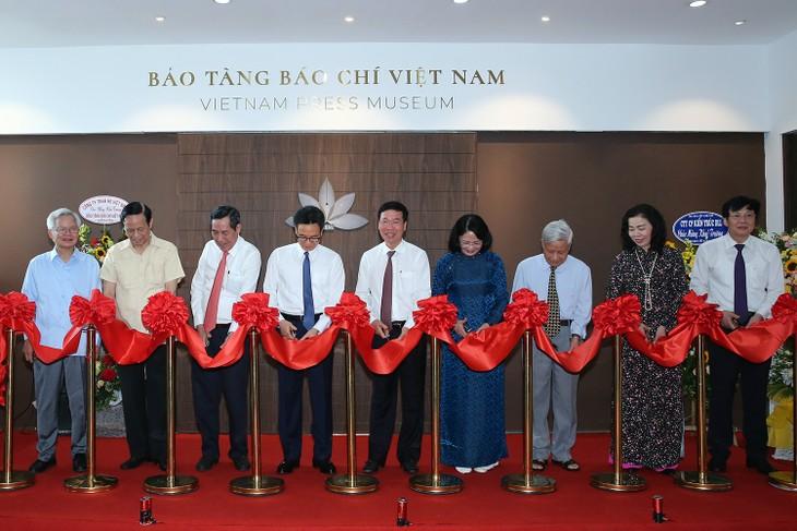 Inauguration du Musée de la presse vietnamienne - ảnh 1