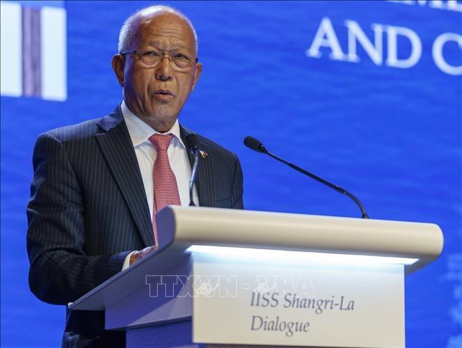 Les Philippines dénoncent les exercices militaires chinois en mer Orientale - ảnh 1