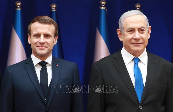 Israël: Macron demande à Netanyahu de renoncer à tout projet d'annexion de Territoires palestiniens - ảnh 1