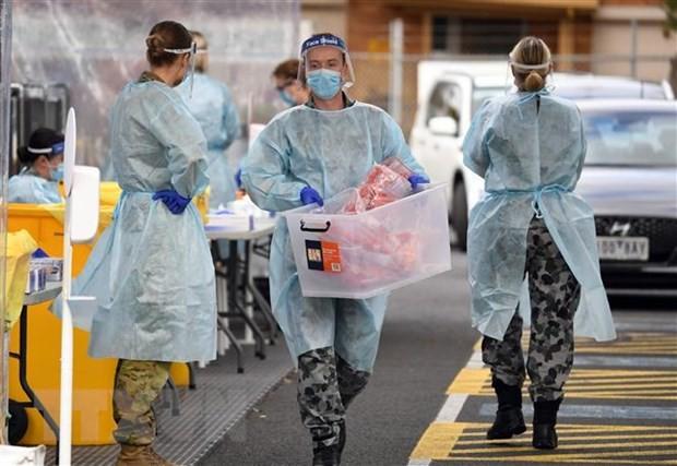 Coronavirus: Melbourne exige le port du masque face à un nouveau record d'infections - ảnh 1
