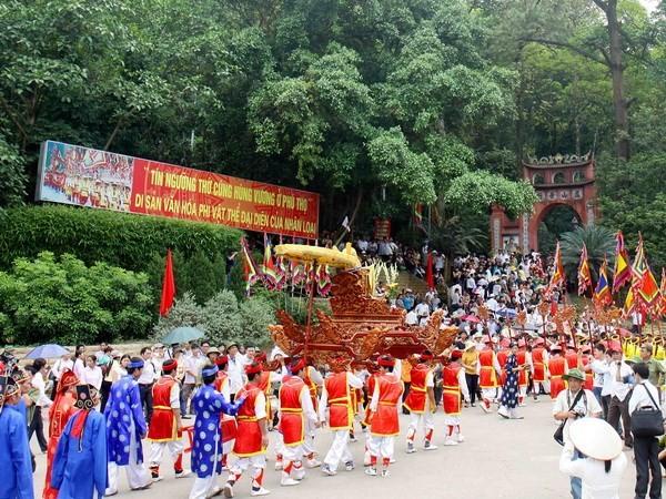 Le culte des rois Hùng, partie de l'identité vietnamienne - ảnh 1