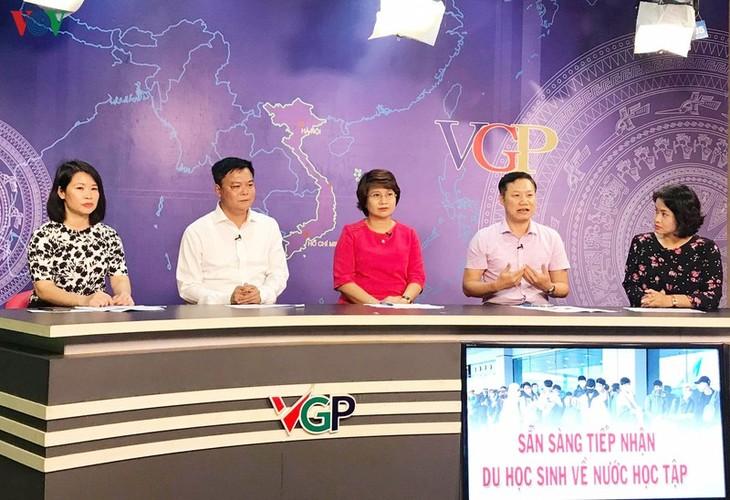 Les universités domestiques prêtes à accueillir les étudiants vietnamiens de l'étranger - ảnh 1