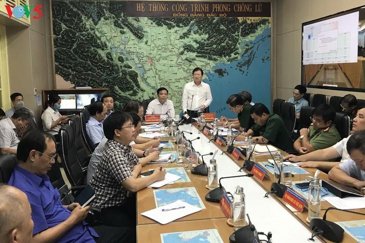 Visioconférence de la Direction nationale de prévention des catastrophes naturelles - ảnh 1