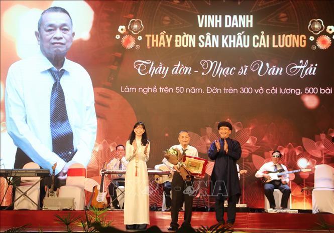 Journée du théâtre vietnamien: Les artistes exemplaires de 2020 à l'honneur     - ảnh 1
