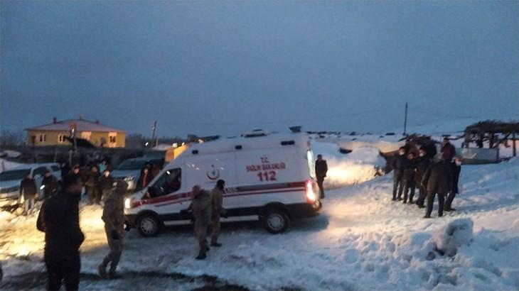 Turquie : un hélicoptère militaire s'écrase, onze morts dont un général - ảnh 1