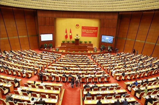 Visioconférence nationale sur la résolution du 13e Congrès national du PCV - ảnh 1