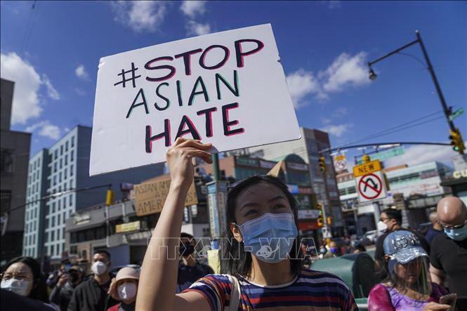 Manifestations aux États-Unis contre les violences anti-asiatiques - ảnh 1