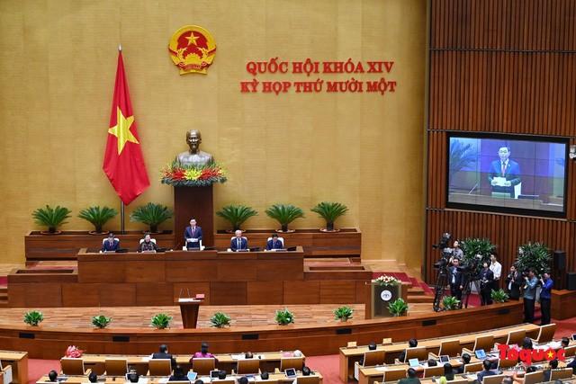 Communiqué de la 11e session de l'Assemblée nationale, 14e législature - ảnh 1