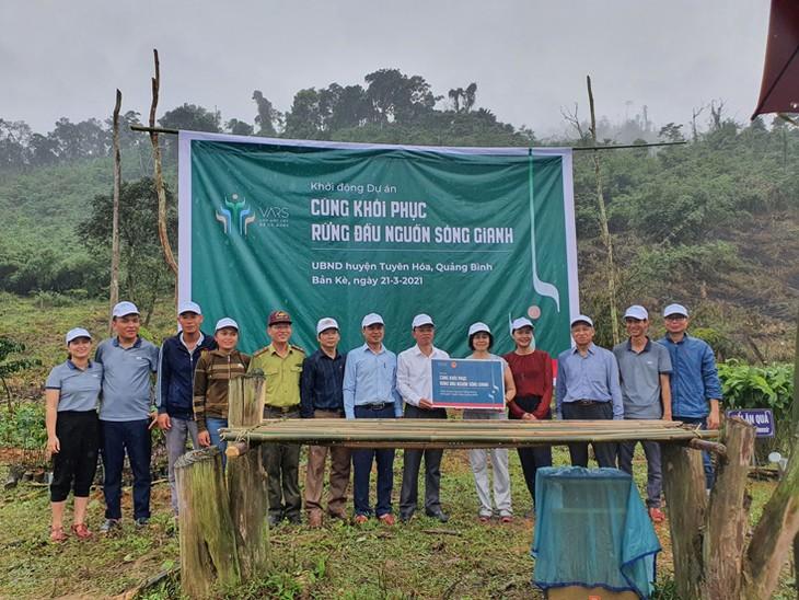 Restauration des forêts en amont du fleuve Gianh - ảnh 1