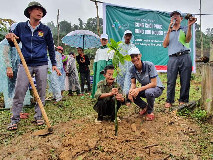 Restauration des forêts en amont du fleuve Gianh - ảnh 2