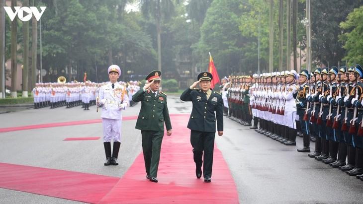 Le ministre chinois de la Défense en visite officielle au Vietnam - ảnh 1