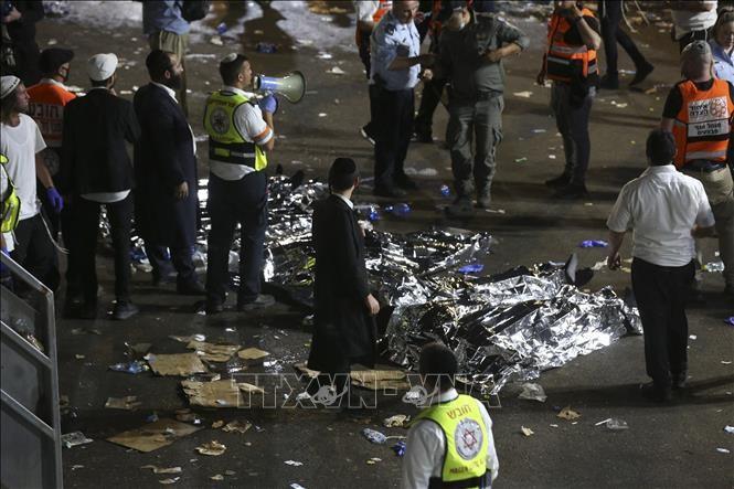 Israël: au moins 44 pèlerins meurent dans une bousculade géante  - ảnh 1