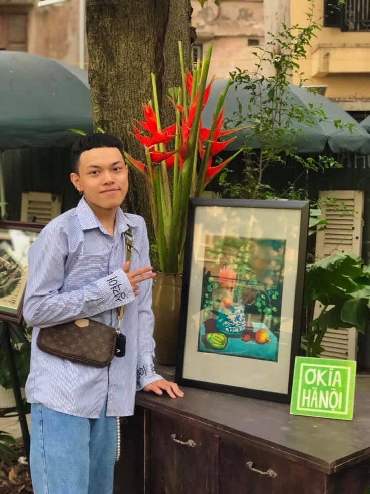 Young artists help keep Vietnamese history and traditional arts alive - ảnh 6