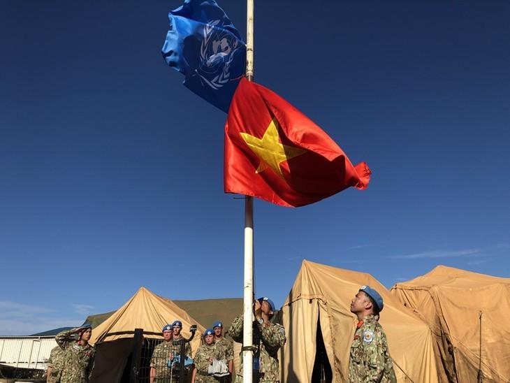 Les Casques bleus renvoient l'image d'un Vietnam amical et dynamique - ảnh 2