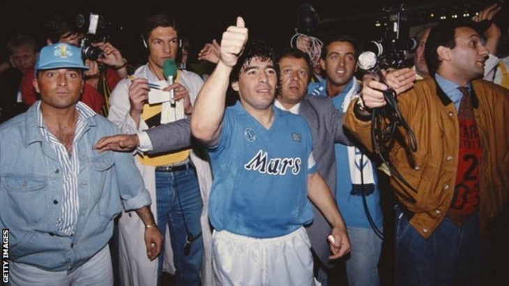 Diego Maradona, une vie et une carrière en images  - ảnh 11