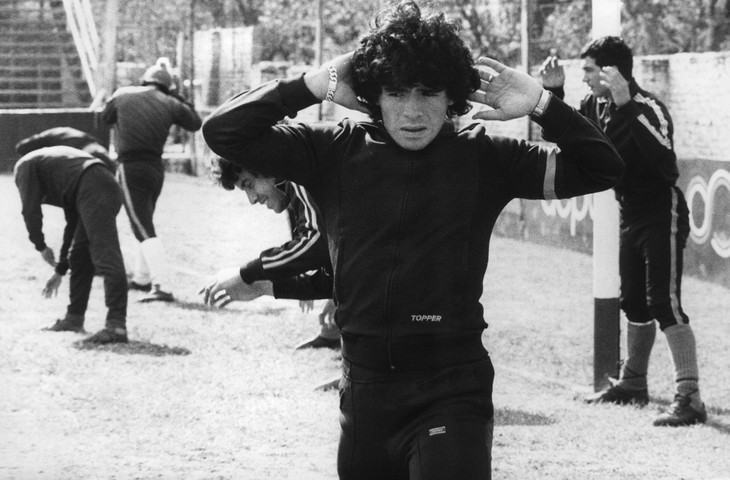 Diego Maradona, une vie et une carrière en images  - ảnh 3