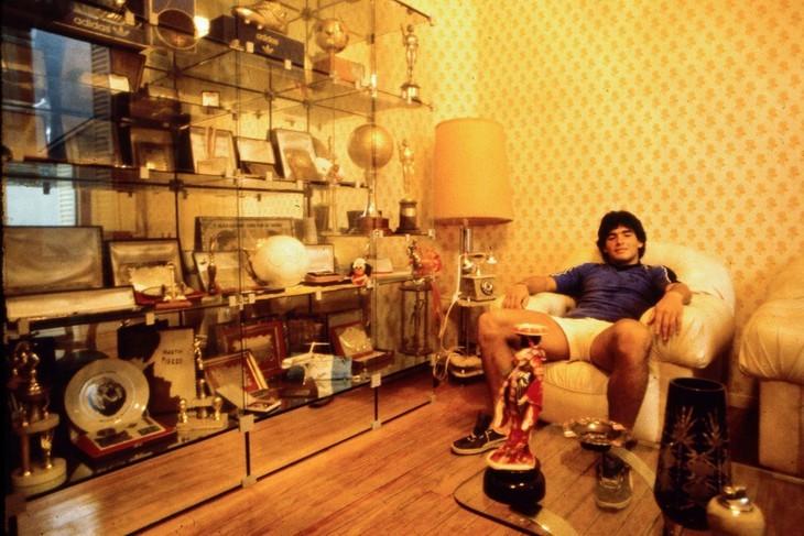 Diego Maradona, une vie et une carrière en images  - ảnh 5