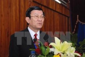 President Truong Tan Sang begins state visit to Czech Republic - ảnh 1
