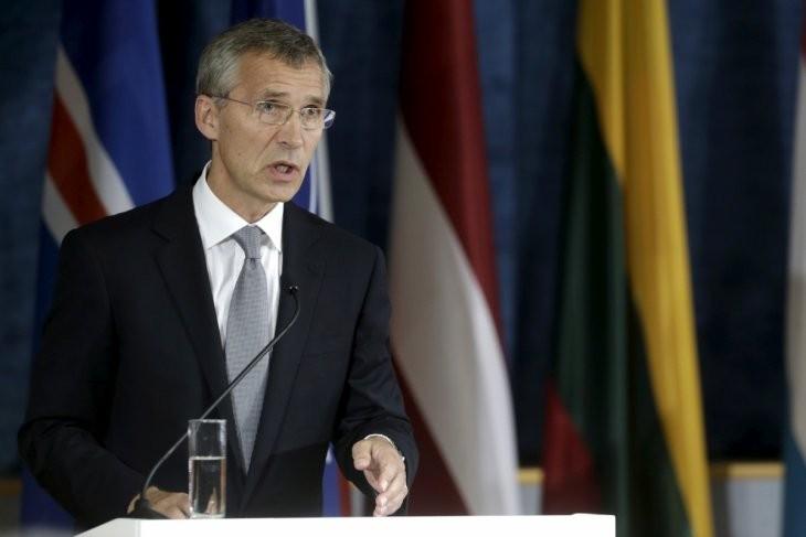 NATO Secretary General visits Ukraine - ảnh 1