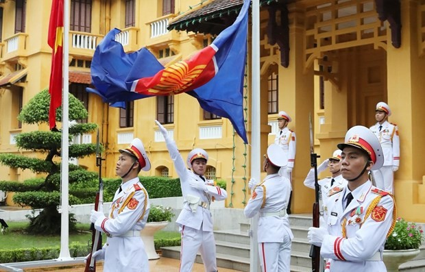 ASEAN foreign ministers' statement on maintaining peace and stability in Southeast Asia - ảnh 1