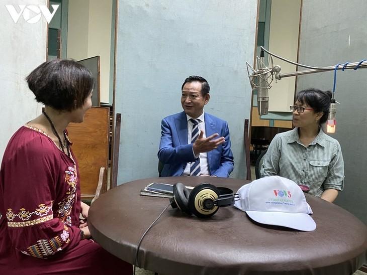 Egyptian Radio spotlights Vietnam's achievements on its 75th National Day - ảnh 1