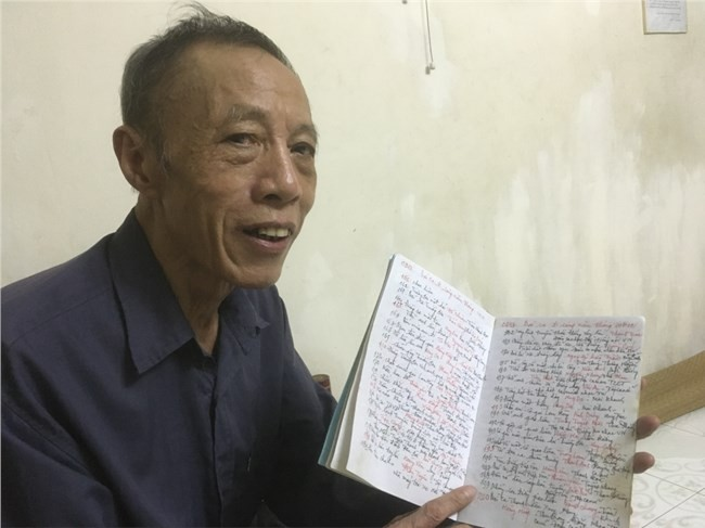 Listener makes impression for 64 years of listening to VOV - ảnh 1