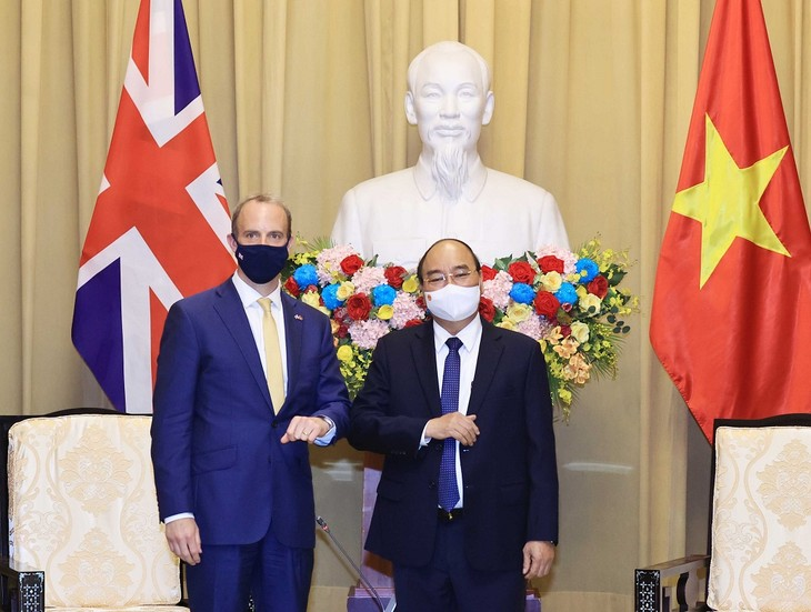 President urges deepening Vietnam-UK strategic partnership - ảnh 1