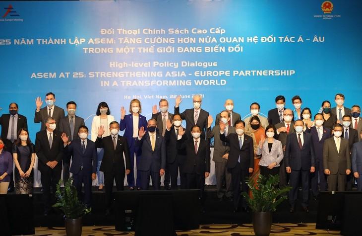 アジア・欧州パートナーシップを深化 - ảnh 1