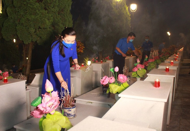 Heroic martyrs honored nationwide - ảnh 2