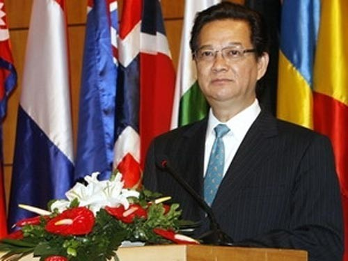 ນາຍົກລັດຖະມົນຕີ Nguyen Tan Dung ເຂົ້າຮ່ວມບັນດາກອງປະຊຸມສຸດຍອດອາຊຽນ ຄັ້ງທີ 21 - ảnh 1