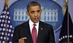 ປະທານາທິບໍດີ ອາເມລິກາ         Barak Obama ປະກາດ     ຂໍ້ສະເຫນີຄວບຄຸມປືນ - ảnh 1