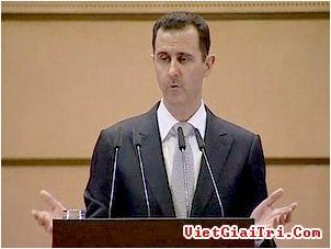 ປະທານາທິບໍດີຊີຣີ Bashar al Assad ປະກາດບໍ່ລາອອກຈາກຕຳແໜ່ງ - ảnh 1