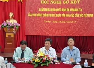 "Rückblick auf das Programm des ""Kulturtags der Volksgruppen Vietnams"" - ảnh 1"
