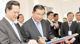 Kambodschanische Medien berichten vom Glückwunschtelegramm der KPV an die CPP - ảnh 1