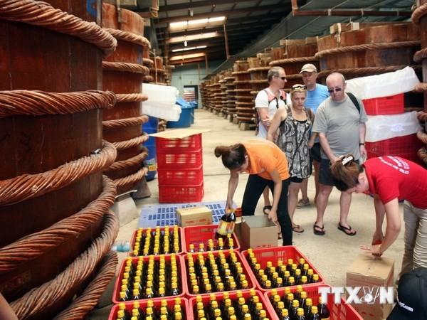Kien Giang: Eröffnung des Festes zur Werbung der Fischsoße Phu Quoc - ảnh 1