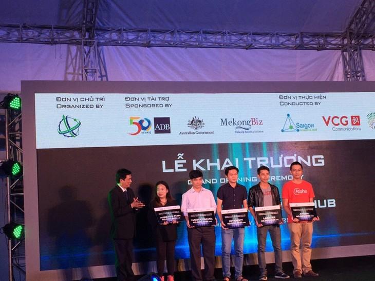 Eröffnung des Zentrums zur Startup- und Innovationsförderung Sai Gon - ảnh 1