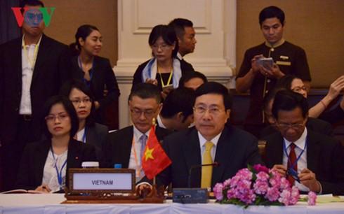 Vize-Premierminister Pham Binh Minh nimmt an Mekong-Lancang-Außenministerkonferenz teil - ảnh 1