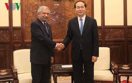 Staatspräsident Tran Dai Quang empfängt den Leiter von UNDP in Vietnam - ảnh 1