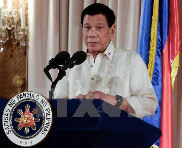 Philippinischer Präsident fordert Armee zur Vernichtung der Rebellen auf - ảnh 1