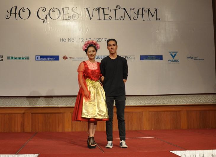 Das österreichische Dirndl im vietnamesischen Stil - ảnh 10