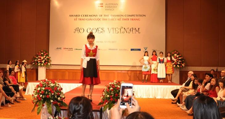 Das österreichische Dirndl im vietnamesischen Stil - ảnh 4