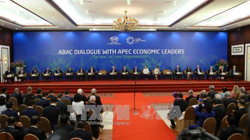 Dialog zwischen APEC-Spitzenpolitiker und dem Beratungsrat für Unternehmen - ảnh 1