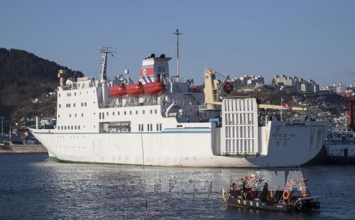 Südkorea-USA-Japan wollen illegale maritime Schmuggel-Aktivitäten Nordkoreas verhindern - ảnh 1